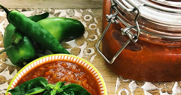 The best refined sugar free sweet chilli sauce