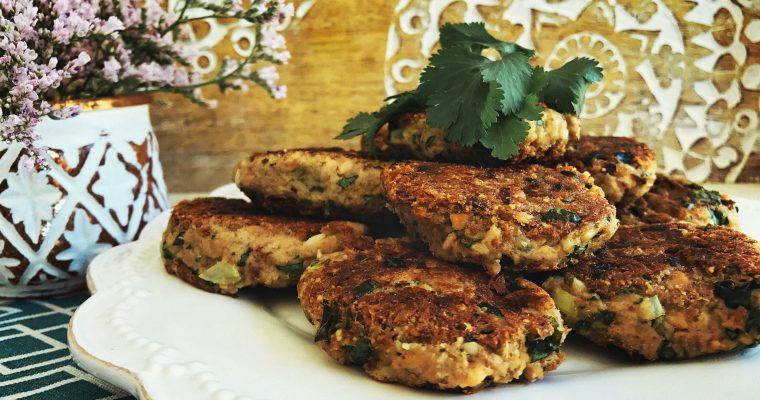 Kai's eggless tuna cakes – gluten, wheat, dairy and egg free