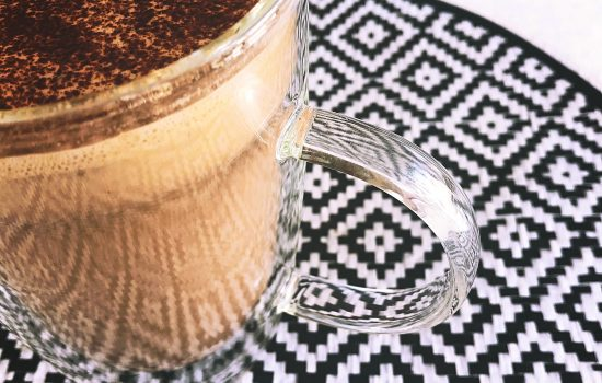 Hot chocolate – dairy and refined sugar free