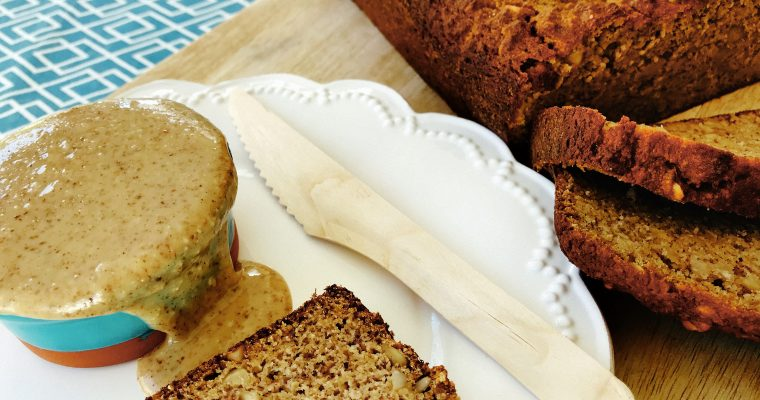 Paleo banana bread – gluten, wheat, dairy and refined sugar free