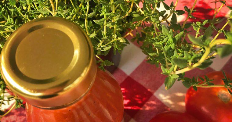 Healthy tomato sauce – refined sugar free