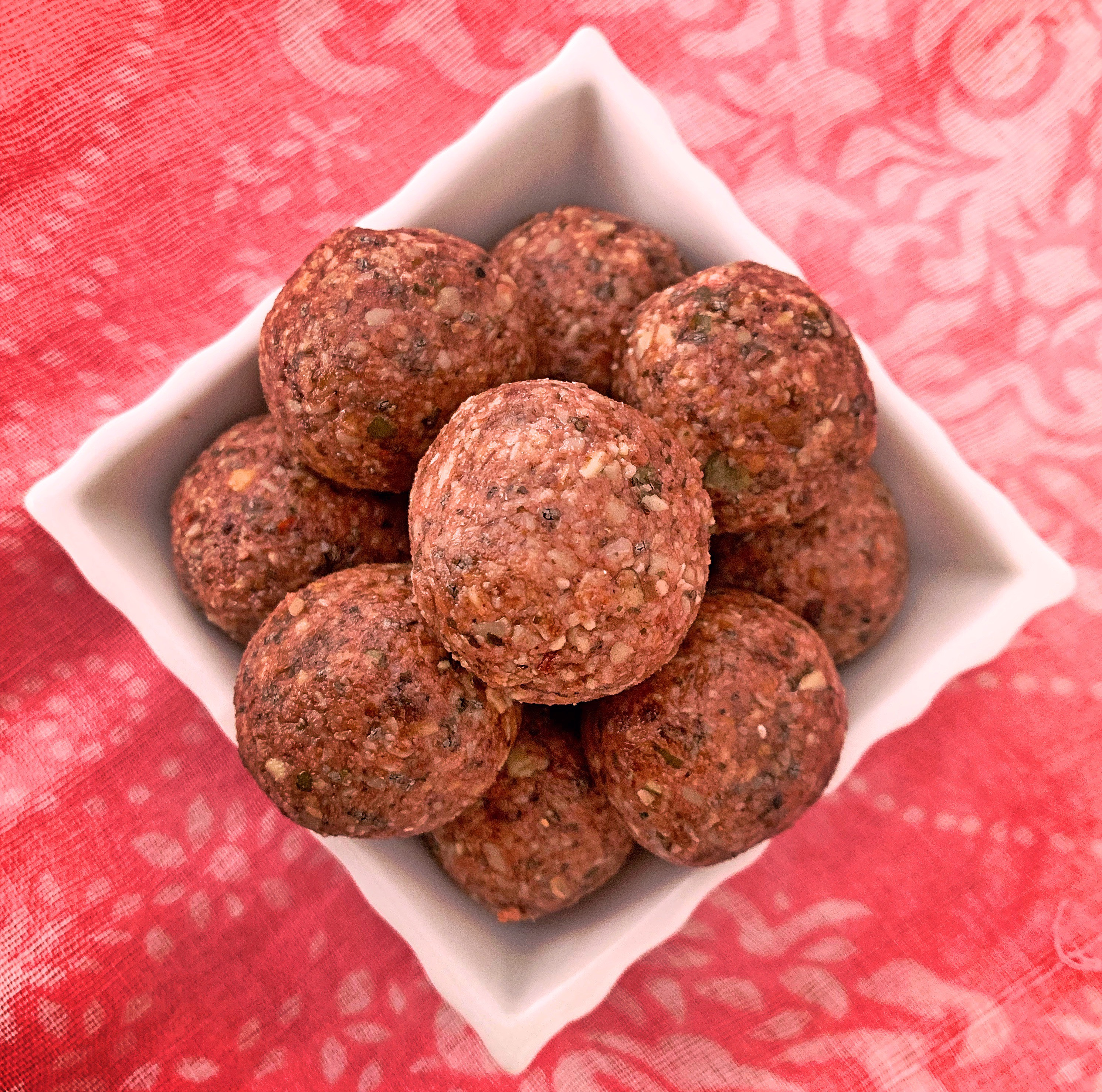 Berry delight energy balls