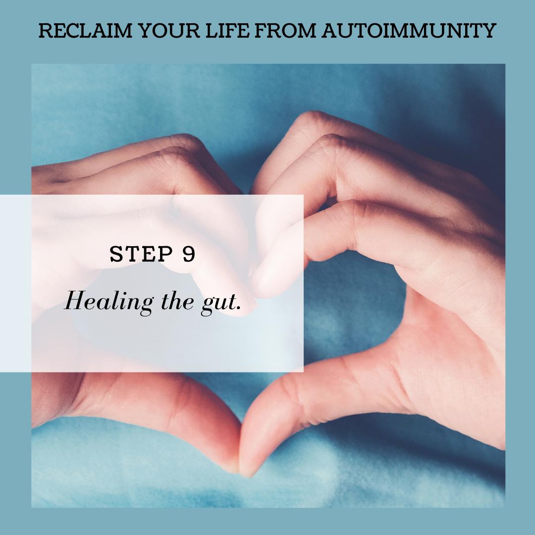 STEP 9: HEALING THE GUT