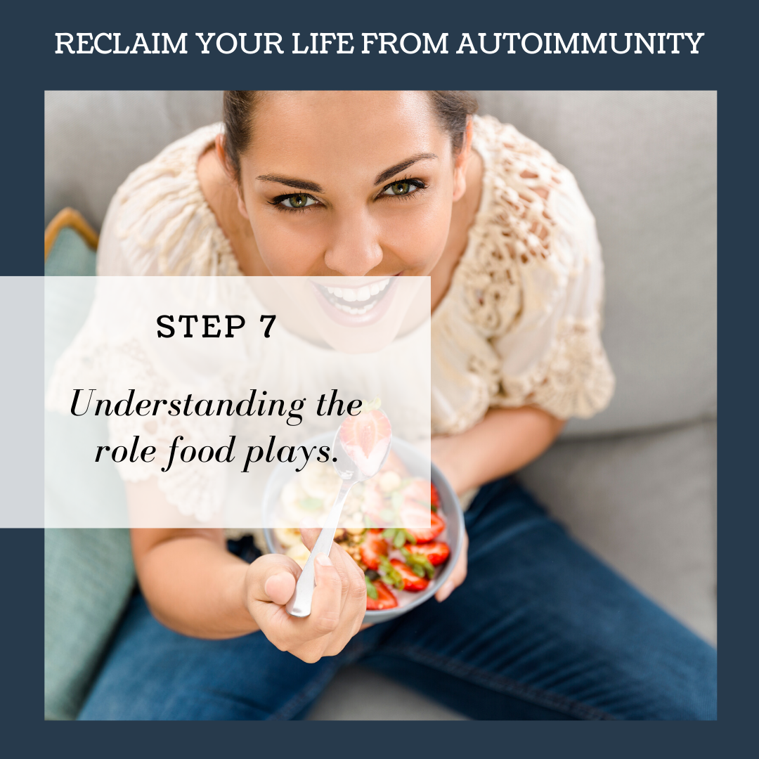 STEP 7: UNDERSTANDING THE ROLE FOOD PLAYS