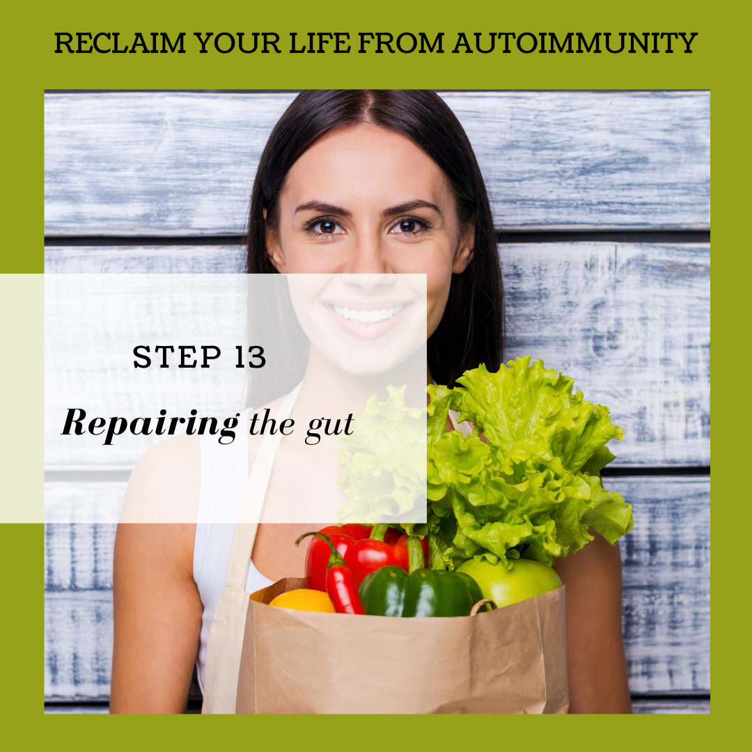 STEP 13: REPAIRING THE GUT